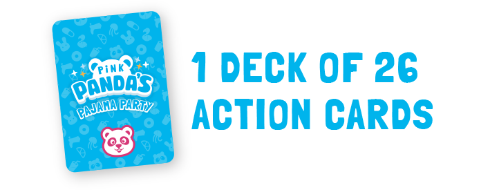 1 deck of 26 action cards