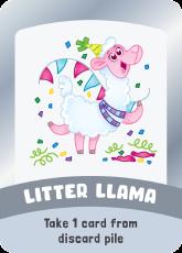 litter llama
